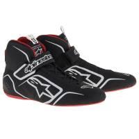 Alpinestars - Alpinestars Tech 1-Z v1 Shoes - Black/White/Red - Size 10.5