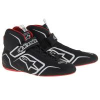 Alpinestars - Alpinestars Tech 1-Z v1 Shoes - Black/White/Red - Size 7