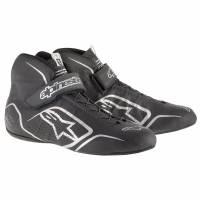 SUMMER SIZZLER SALE! - Racing Shoe Sale - Alpinestars - Alpinestars Tech 1-Z v1 Shoes - Black/Anthraciteacite - Size 5