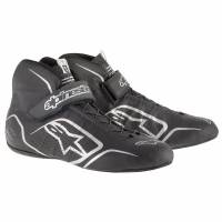 SUMMER SIZZLER SALE! - Racing Shoe Sale - Alpinestars - Alpinestars Tech 1-Z v1 Shoes - Black/Anthraciteacite - Size 8.5