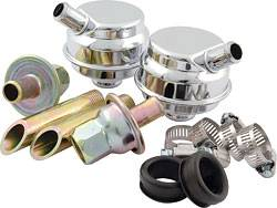 Engine Components - Oil System Components - Crankcase Evacuation Systems and Components