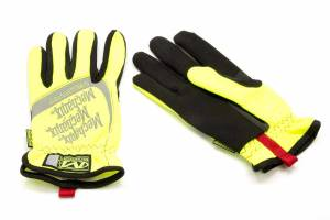 Gloves - Mechanix Wear Gloves - Mechanix Wear Hi-Vis FastFit High-Visibility Work Gloves