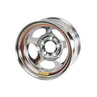"Bassett Racing Wheels - Bassett 15x10 5x4.75 2"" Back Spacing Chrome"