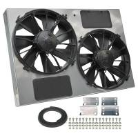 """Cooling & Heating - Derale Performance - Derale 13"""" Dual High Output RAD Fans Puller"""