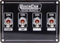 Switch Panels - QuickCar Switch Panels - QuickCar Racing Products - QuickCar Extreme Ignition Panel w/ Starter Switch