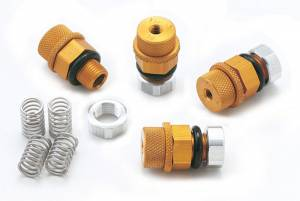 Wheel Components and Accessories - Tire Pressure Relief Valves and Components - Tire Pressure Relief Valves