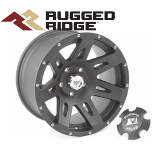 Wheels and Tire Accessories - Rugged Ridge XHD Wheels