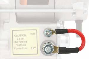 Ignition & Electrical System - Starters and Components - Starter Solenoid Jumper Wires