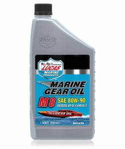 Oils, Fluids and Additives - Gear Oil - Lucas M8 SAE 80W-90 Marine Gear Oil