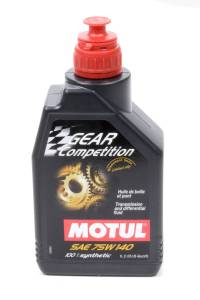 Oils, Fluids and Additives - Gear Oil - Motul Gear Competition 75W-140 Gear Oil