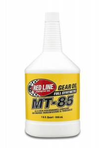 Oils, Fluids and Additives - Gear Oil - Red Line MT-85 75W-85 GL-4 Synthetic Gear Oil