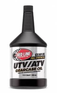 Oils, Fluids and Additives - Gear Oil - Red Line UTV/ATV 75W-80 Gearcase Oil
