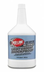 Oils, Fluids and Additives - Gear Oil - Red Line Lightweight ShockProof® Gear Oil