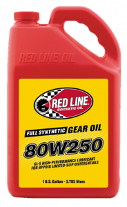 Oils, Fluids and Additives - Gear Oil - Red Line 80W-250 GL-5 Synthetic Gear Oil