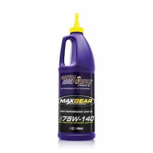 Oils, Fluids and Additives - Gear Oil - Royal Purple Max Gear® High Performance 75W-140 Gear Oil