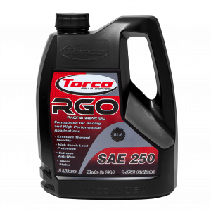 Oils, Fluids and Additives - Gear Oil - Torco RGO SAE 250 Racing Gear Oil
