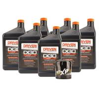 Oil, Fluids & Chemicals - Driven Racing Oil - Driven DI30 Oil Change Kit for 2014-2018 Corvette Stingray GM LT1 Engine w/ 7 Qt Oil Capacity