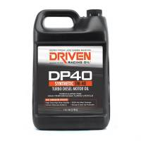 Oil, Fluids & Chemicals - Driven Racing Oil - Driven DP40 5W-40 Synthetic Turbo Diesel Oil - 1 Gallon Jug