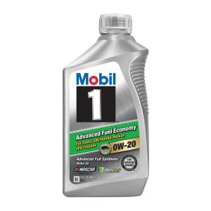 Motor Oil - Mobil 1 Motor Oil - Mobil 1™ Advanced Fuel Economy Motor Oil