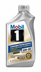 Motor Oil - Mobil 1 Motor Oil - Mobil 1™ Extended Performance High Mileage Motor Oil