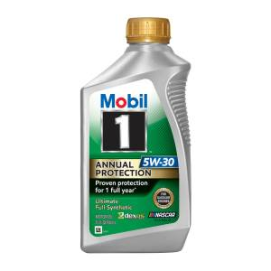 Motor Oil - Mobil 1 Motor Oil - Mobil 1™ Annual Protection Motor Oil