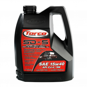 Motor Oil - Torco Racing Oil - Torco SD-5 15W40 Synthetic Diesel Oil