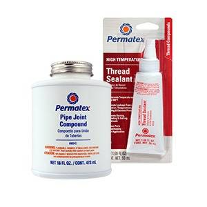 Oil, Fluids & Chemicals - Sealers, Gasket Makers and Adhesives - Thread Sealants