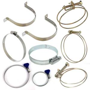 Fittings & Hoses - Hose Clamps, Brackets and Separators - Hose Clamps