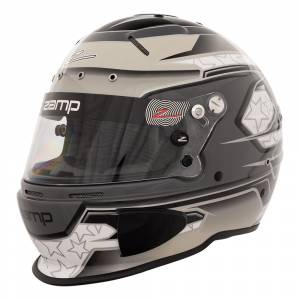 Helmets - Zamp Helmets - Zamp RZ-70E Switch Graphic Helmet - Gray/Light Gray - Snell SA2020 - SALE $419.36 - SAVE $46.59
