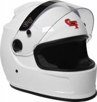 G-Force Racing Gear - G-Force Revo Air Helmet - White - Medium - Image 4