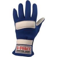 G-Force G5 Racing Gloves - Blue - Large