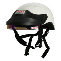 Crew Apparel & Collectibles - G-Force Racing Gear - G-Force DOT Crew Helmet - White - Medium