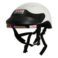Crew Apparel & Collectibles - Crew Helmets - G-Force Racing Gear - G-Force DOT Crew Helmet - White - Medium