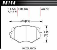 Brake System - Hawk Performance - Hawk Brake Pads Front Mazda Miata MX-5 DTC-60