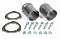 "Header Components and Accessories - Collector Reducers - Hedman Hedders - Hedman Hedders 3"" Inlet to 3"" OD Outlet Collector Reducer 3-Bolt Ball and Socket Flange Hardware Steel - Natural"