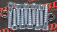 Hardware and Fasteners - Blower Drive Service - Blower Drive Service Mounting Bolt Kit - Blower to Intake