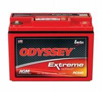"""Odyssey Battery - Odyssey Battery AGM Battery 12V 220 Cranking Amps Top Post Screw"""" Terminals - 7.12"""" L x 5.23"""" H x 3.50"""" W"""