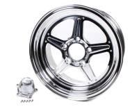 Billet Specialties Wheels - Billet Specialties Street Lite Wheels - Billet Specialties - Billet Specialties Street Lite Wheel - 15 in. x 8 in. - 5 in. x 4.75 in. - 3.5 in. Back Spacing