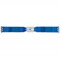 "Lap Belts - Latch & Link Seat Belts - Simpson Performance Products - Simpson 5 Point Standard Latch & Link Lap Belts - Pull Down Adjust - 55"" Bolt-In - Blue"