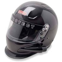 Helmets - HELMET CLEARANCE SALE! - Pyrotect - Pyrotect Pro Airflow Carbon Duckbill Side Forced Air Helmet - Large