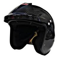 Pyrotect Pro Airflow Carbon Open Face Helmet - Matte Finish - X-Large