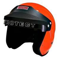 Pyrotect Pro Airflow Open Face Helmet - Orange - Medium