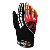 Crew Apparel & Collectibles - K1 RaceGear - K1 RaceGear Mechanics Pro Pit Gloves - Black/Red - Medium