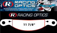 Safety Equipment - Racing Optics - Racing Optics Perimeter Seal Tearoffs - Clear - Fits Impact Vapor, Air Vapor, Charger, Super Charger, Draft
