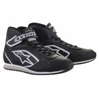 Crew Apparel & Collectibles - Shoes & Boots - Alpinestars - Alpinestars Radar Shoe - Black/White - Size 10.5