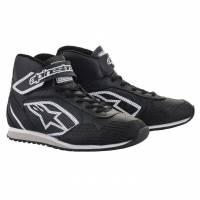 Crew Apparel & Collectibles - Shoes & Boots - Alpinestars - Alpinestars Radar Shoe - Black/White - Size 8.5