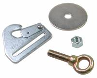 Seat Belts & Harnesses - Seat Belt Mounting Hardware and Brackets - Crow Enterprizes - Crow Clip-in Snap w/Eye Bolt, Nut & Washer