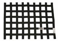 """Ribbon Window Nets - 24"""" x 24"""" Ribbon Window Nets - Crow Enterprizes - Crow Window Net - 1'' Webbing - 24"""" x 24"""" - SFI 27.1 - Black"""