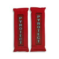 Seat Belt and Harness Parts & Accessories - Harness Pads - Pyrotect - Pyrotect Nomex Harness Pads - Red