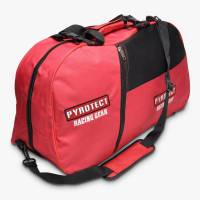 Safety Equipment - Gear & Helmet Bags - Pyrotect - Pyrotect 3-Compartment Equipment Bag - Red